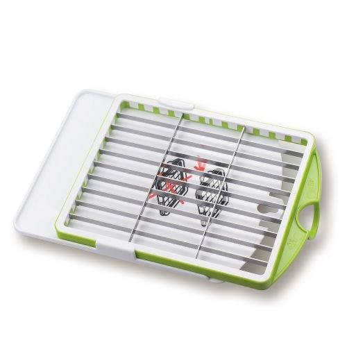 Genius Salat Chef Zubehör Messereinsatz 12x48 mm - Messer mit dem Salat Chef (Fassung: 4500 ml) kompatibel | Scheiben/Streifen