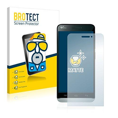 BROTECT 2X Entspiegelungs-Schutzfolie kompatibel mit Wiko Wax Bildschirmschutz-Folie Matt, Anti-Reflex, Anti-Fingerprint