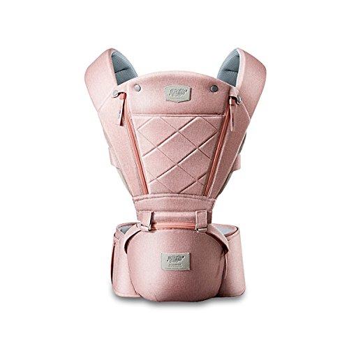 SONARIN 3 en 1 porte-bébé respirant Hipseat,Baby Carrier,Porte-bébé,conception d'ouverture avant,Protection solaire,Multifonction,100% GARANTIE et LIVRAISON GRATUITE, Idéal Cadeau(Rose)