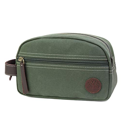 Timberland Heren Canvas Travel Kit, Olijf (groen) - 00_DBKT6949_TO
