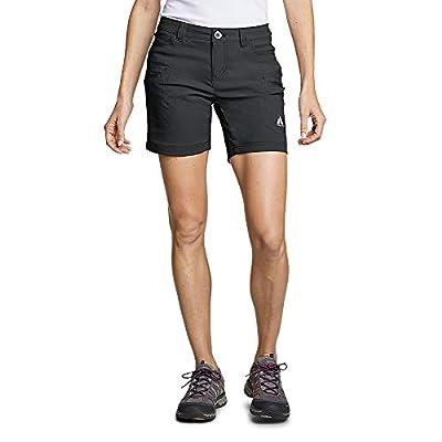 Eddie Bauer Women's Guide Pro Shorts, Dk Smoke Regular 6