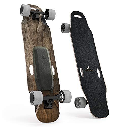 Elwing • Longboard Electrique Halokee • Skateboard avec Télécommande • Seulement 5,5Kg •...