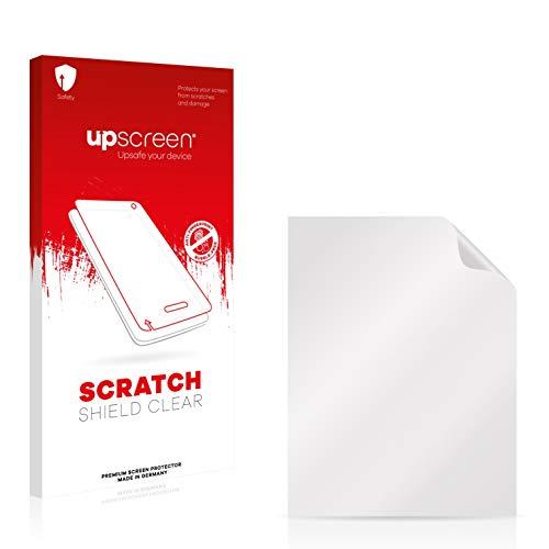 upscreen Protector Pantalla Compatible con Clarion MAP370 Película Protectora – Transparente, Anti-Huellas