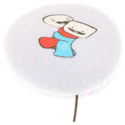 Earbags für Kinder Ohrenwärmer Ohrenschützer Mütze Mit Clip Schnur Stirnband Warme Ohren Original, 824, Farbe Gliz & Neve Hellblau, Größe S