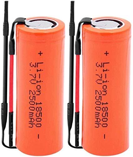 3.7 V 2500 MAH 18500 Litio Li-Ion Baterías Recargables Coche LED Linterna Antorcha Refall Células 4 Piezas-4 Habitaciones-2 Habitaciones