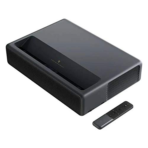 QinWenYan Projektoren Cinema Projektor 2000 Ansi Lumen 150 Zoll TV-Projektor für Zuhause (Farbe : Black, Size : 41.00 x 29.10 x 4.20 cm)