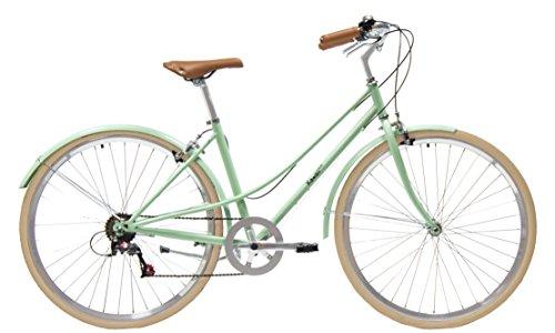 Kamikaze Kawaii Bicicleta híbrida Paseo 7 velocidades Verde