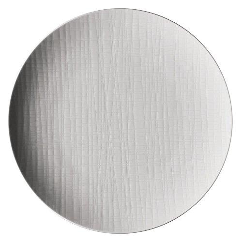 Rosenthal 11770-800001-10867 Assiette Plate 27 cm, Porcelaine, Blanc