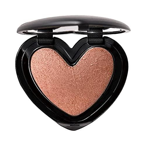 Highlighter Maquillage, Blush Maquillage, Touche de Joue surligneur Sculpture de chatouillons de Chatte de Poudre de Poudre de Visage de la Maquillage en Forme de Cour avec Style Miroir 6
