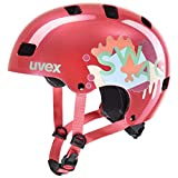 Uvex Unisex Jugend, kid 3 Fahrradhelm, coral, 55-58 cm