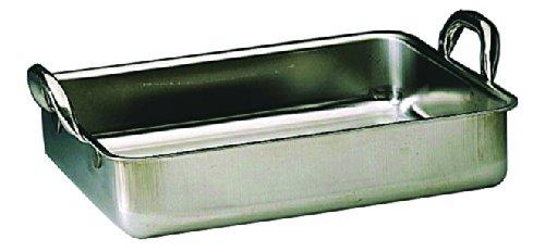 Plat à rôtir professionnel acier inoxydable - 400*320 mm