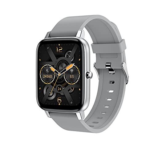 YDK H80 Smartwatch Men's 1.69 Pulgadas Fitness Tracker Pulsera Deportiva Reloj De Reloj De Ritmo Cardíaco Impermeable, Adecuado para El Reloj Inteligente De iOS Android,D
