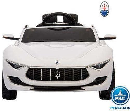barato y de alta calidad PEKECARS Maserati 12V 12V 12V 2.4G Top Class (blanco)  en stock
