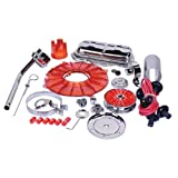 Super Color & Chrome Dress Up Kit, Red, For Aircooled VW, Compatible with Dune Buggy...