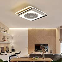 目に見えないサイレントファン天井ランプ寝室ダイニングルームモダンミニマリストライト
