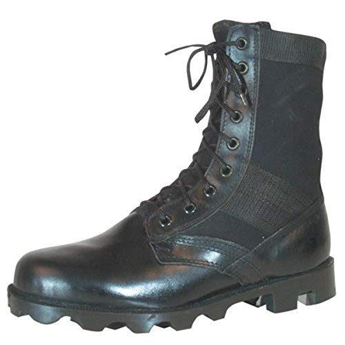 Fox Outdoor Products Vietnam Jungle Boot, Black, Size 9