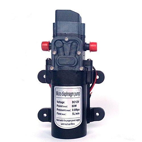 Labellevie Bomba de agua Automático Alta Presión Diafragma DC12 V 5 L/m para RV / Caravana / Bate