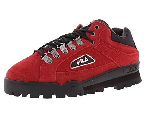 Fila Trailblazer Suede Mens Shoes Size 13 Red/Black