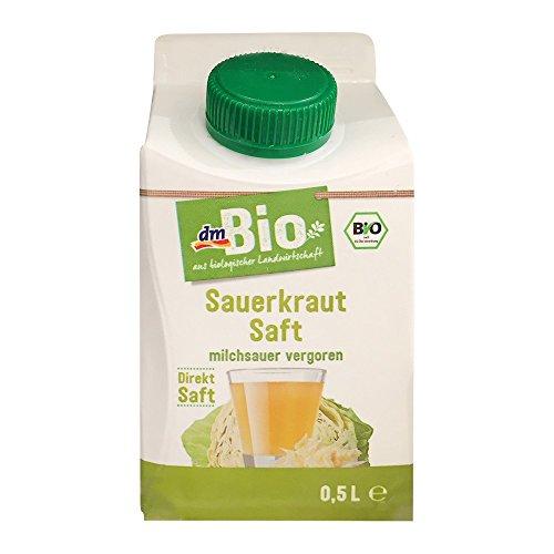 dmBio Sauerkrautsaft, 500 ml Papierflasche (1er Pack)