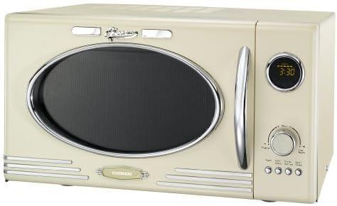 Melissa Classico Retro Designer Microwave For Your Kitchen Cream Amazon De Home Kitchen