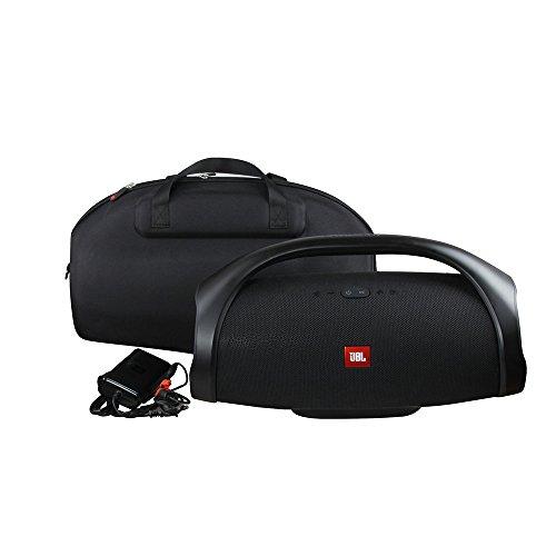 Hard Case for JBL Boombox - Waterproof Portable Bluetooth Speaker by Hermitshell (Black)
