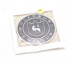 Genuine Satin blackhigh chrome badge self-adhesive VW CC Tiguan 561853688DYMS