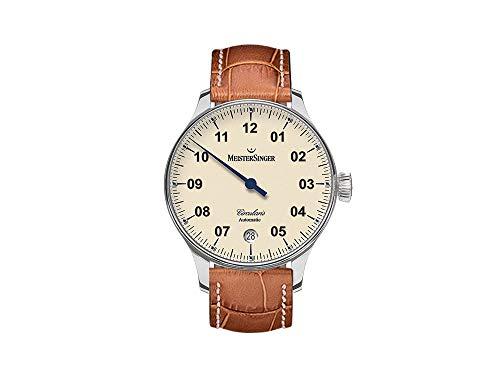 MeisterSinger Circularis Reloj con sólo una aguja Calibre de Manufactura