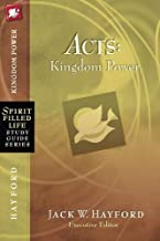 Acts: Kingdom Power (Spirit-Filled Life Study Guide Series)
