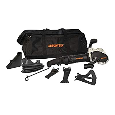 Arbortech ALLSAW AS175 Brick and Mortar Saw with Blades, Dust Boot, and Carry Bag