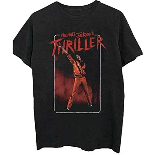 Rockoff Trade heren Michael Jackson Thriller wit rood pak T-Shirt