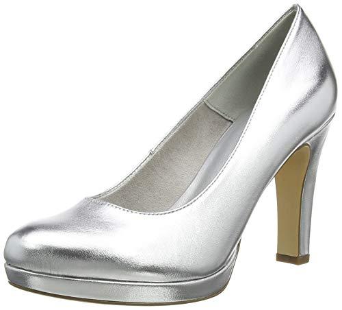 Tamaris Damen 1-1-22426-24 Pumps, Silber (Silver 941), 41 EU