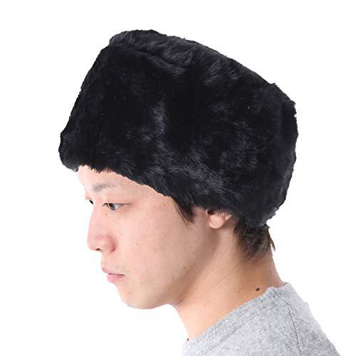 TRAX SHOP 8色 ファーロシア帽子 ロシア帽子 コサック ロシアン ロシア 帽子 メーテル レディース メンズ 男女兼用 TGY-023(ブラック)