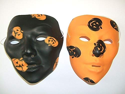 Fiesta Palace - masque coque halloween noir/orange mix