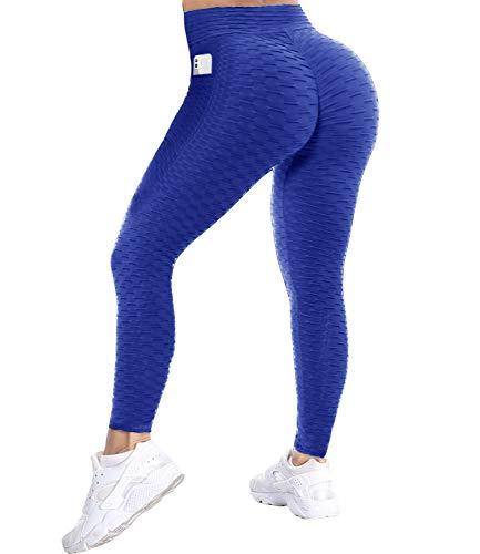 COMFREE Tiktok Honeycomb Leggings Push Up Mujer Mallas de Deporte Pantalones Deportivos Alta Cintura Elásticos Yoga Fitness