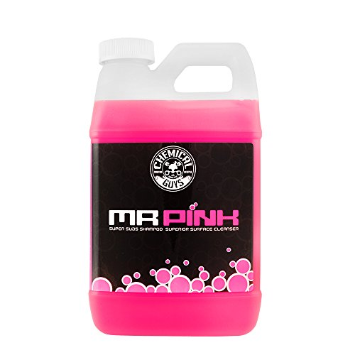 Chemical Guys CWS_402_64 Mr. Pink Foaming Car Wash Soap (Works with Foam Cannons, Foam Guns or Bucket Washes), 64 oz., Candy Scent