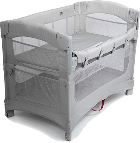Arm's Reach Ideal 3 in-1 Co-Sleeper Bassinet, Grey