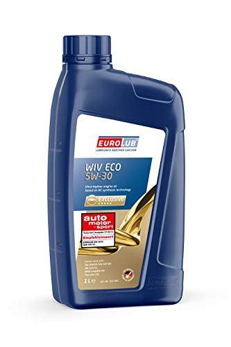 EUROLUB 211001 WIV SAE ECO SAE 5W-30 Motoröl, 1 Liter