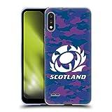 Head Case Designs Licenciado Oficialmente Scotland Rugby Camuflaje Logotipo 2 Carcasa de Gel de Silicona Compatible con LG K22