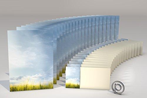 Herbst, Küste, Natur und Meer Briefpapier Set JEVER, 40-teilig mit 20 Blatt Motivpapier DIN A4, 90g/qm und 20 passenden DIN LANG-Briefumschlägen