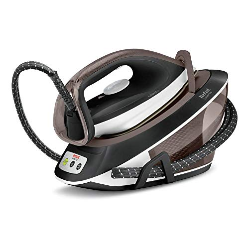Tefal Liberty sv7040220W 1.5L Ultragliss Soleplate Black, Brown, White Steam Ironing Station–Dampfbügelstation (220W, 6bar, 1.5l, 350g/min, 120g/min, Ultragliss Soleplate)