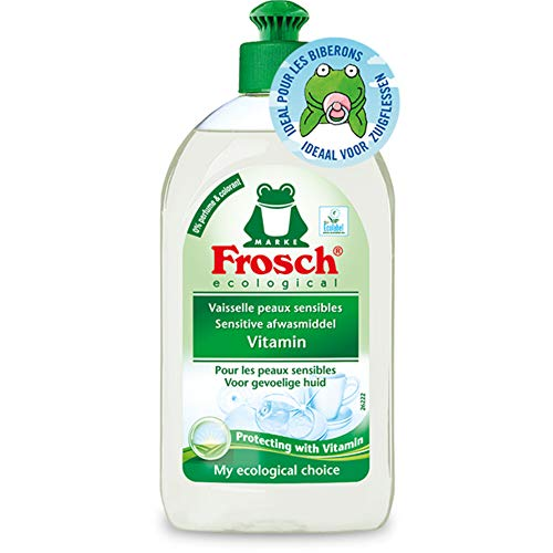 Frosch Afwasmiddel Vitaminen Sensitive, 500 ml