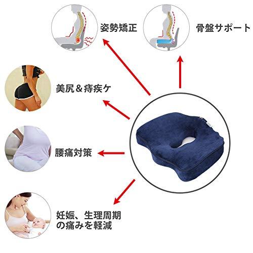 Sedhoom『第7世代座布団低反発腰痛クッション』
