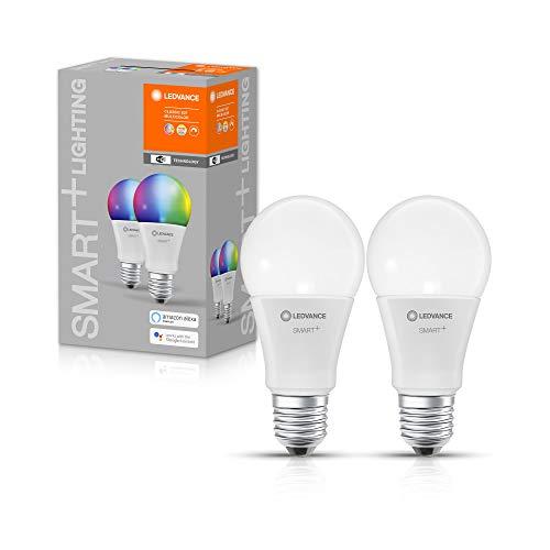 LEDVANCE Lampe LED intelligente avec technologie WiFi, douille E27, dimmable, couleur de...