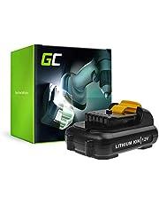 GC® (2.5Ah 10.8V Li-Ion cellen) Batterij Vervangend batterijpakket voor DeWalt DWST1-81078-QW Elektrisch gereedschap