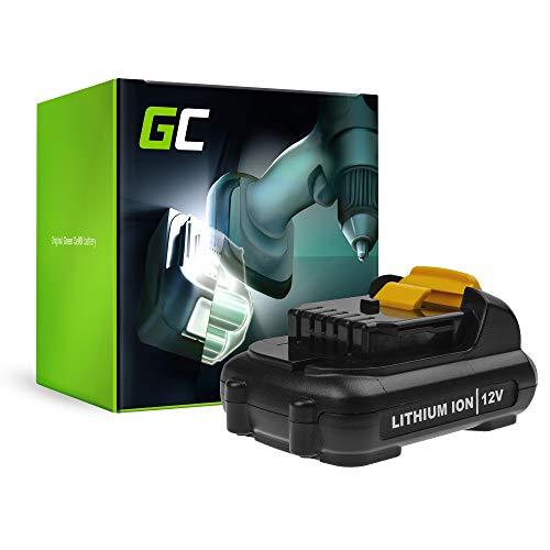 GC (2.5Ah 10.8V Li-Ion pile) DCB123 Batteria per DeWalt Utensili Elettrici