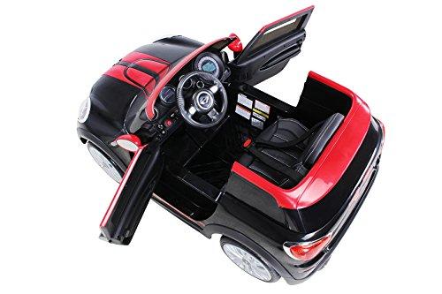 RC Kinderauto kaufen Kinderauto Bild 1: Actionbikes Motors Kinder Elektro Auto Mini Cooper Paceman John Cooper Works Kinderauto Elektroauto Lizenziert 2 x 45 Watt Motor (Schwarz)*