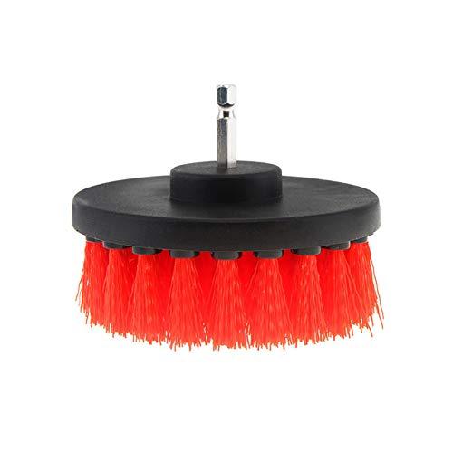LSTGJ 4 Inch Power Scrubber Borstel 3 Willekeurige Kleur Voor het reinigen Badkamer Tapijt Tegel Spoel Kunststof Mechanische Gereedschap Borstel
