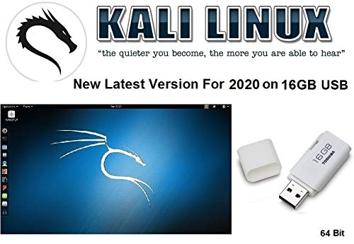 Kali Linux 2020 Ethical Hacking su 16GB USB 64bit