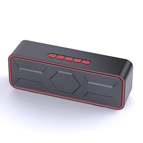 Tollk Lesse Altavoz Bluetooth inalámbrico para Exteriores, teléfono móvil Directamente en el subwoofer del Coche, Audio para Coche Mini Inteligente, Altavoz Bluetooth de reproducción multifunción