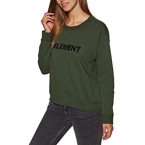 Element Logo Crew Fleece Olive Drab S